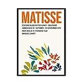 Henry Matisse estilo abstracto geométrico pared arte imagen cartel impresión familia sin marco lienzo pintura A1 60x80cm