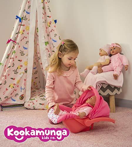 Kookamunga Kids Unicorn Doll Car Seat  Alaska