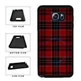 BleuReign(TM) Red Buffalo Plaid Pattern TPU Rubber Silicone Phone Case Back Cover for Samsung Galaxy Note 8