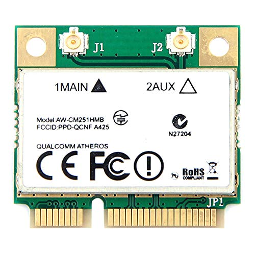 Naliovker Drahtlos Ac Dual Band für Qualcomm Atheros Qca9377 Aw-Cm251Hmb PCI E WLAN Karte 433 Mbit/S Bt4.1 802.11Ac Besser 3160