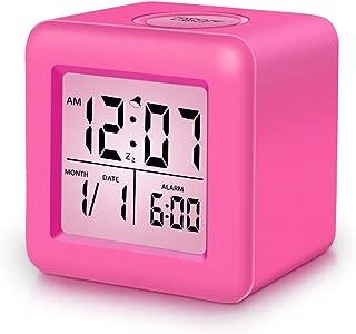 hot pink radio alarm clock