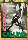 Froy London Calling The Clash Wall Tin Sign Retro Iron