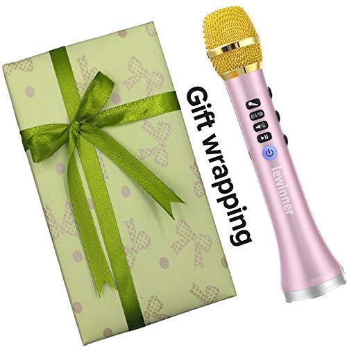 JVCAN professionele 20W draagbare draadloze Bluetooth karaoke microfoon, luidspreker met groot vermogen voor Sing/Meeting