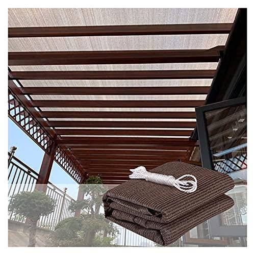ALGFree Lonas para Sombra, Cubierta del Dosel 90% de Bloqueo UV Cubierta de Toldo Sombreado de Protección Solar Sombra Toldo para Exterior Patio Césped Yarda con Cuerda, Personalizable