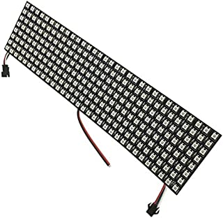 colorfulpearl led matrix 8x32 Pixel WS2812B Panel Digital Flexible LED WS2811 IC Individually addressable Color DC5V