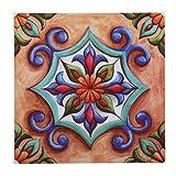 Cyrank Azulejos Adhesivos para Pared, 6 Piezas Adhesivos para Azulejos de Pared para Cocina, baño, calcomanías para escaleras, decoración del hogar