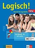 Logisch! neu A1: Deutsch für Jugendliche. Kursbuch A1 con archivos de audio para descargar: Kursbuch A1 + Audio Online