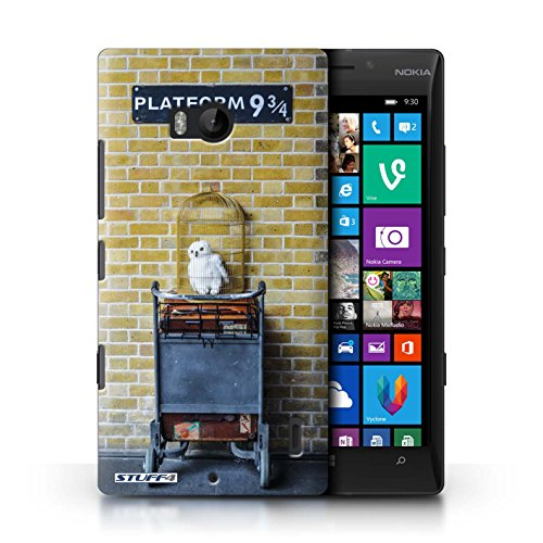 STUFF4 Phone Case/Cover voor Nokia Lumia Icon/Platform 9 3 Qrts Design/London Sites Collection