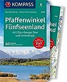 KOMPASS Wanderführer Pfaffenwinkel, Fünfseenland, Starnberger See, Ammersee: Wanderführer mit Extra-Tourenkarte 1:60.000, 60 Touren, GPX-Daten zum Downloaden