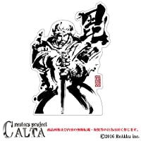 CALTA-ステッカー-上杉 謙信 (2.Mサイズ)