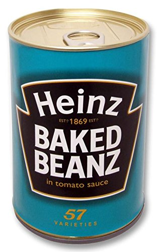 Best Price Square SAFECAN - Heinz Baked BEANZ BPSCA 202HB - SR07547 de Sterling Security Products