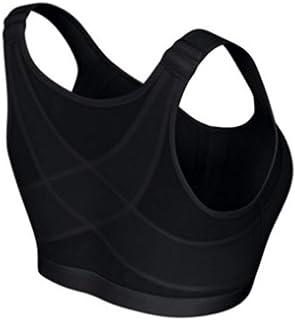 NJTSXLM Sports Bra, Yoga Sports Bra Posture Corrector Lift Bra Women Cross Bra Bra Breathable Underwear Fitness Spandex (C...