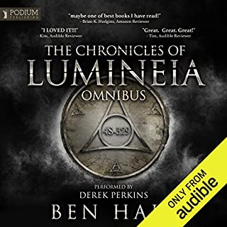 The Chronicles of Lumineia Omnibus: Books 1-3 cover art