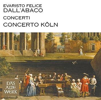 Dall'Abaco : Concerti (DAW 50)