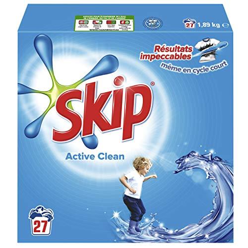 Skip Waschmittel Pulver Active Clean 27Dosen