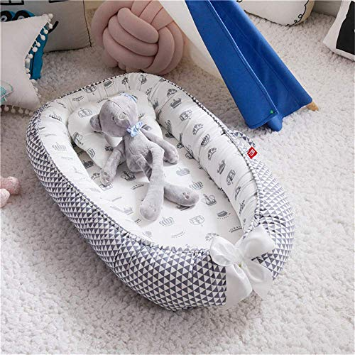 51TGMmNkemL - Baby Lounger and Baby Nest Sharing Co Sleeping Baby Bassinet