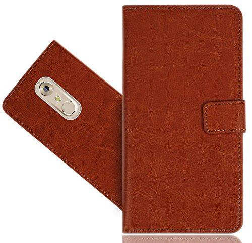 ZTE Axon 7 Mini Handy Tasche, FoneExpert® Wallet Hülle Flip Cover Hüllen Etui Hülle Premium Ledertasche Lederhülle Schutzhülle Für ZTE Axon 7 Mini