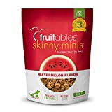 Fruitables Skinny Minis Grain Free Soft Treats for Dogs | Watermelon...