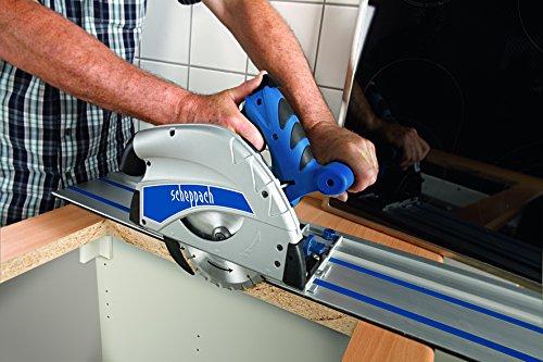 Scheppach Tauchsäge PL55 1.2kW 230V/50Hz – 2×700 mm F-Schiene+Kippschutz, 1 Stück, 5901802915 - 7