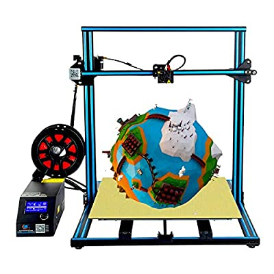 Creality CR10 S5 3D Printer with Large Printing Size, Dual Z-axis, 3D Printing DIY Kit, CR-10 Series 500x500x500mm Blue