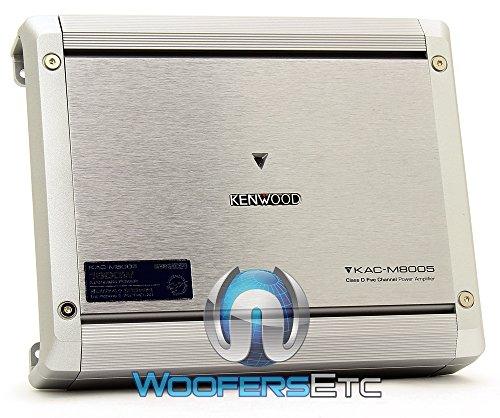 Kenwood Kac-M8005 5-Channel Power Amplifier