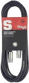 Stagg SMD3 10ft.MIDI-kabel - mannelijke DIN-stekker/mannelijke DIN-stekker - metaal, 3m