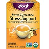 Yogi Tea - Sweet Clementine Stress Support (6 Pack) - Adaptogens to Support Overall Health...