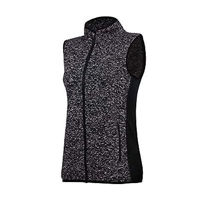 Women Fleece Vest Sleeveless