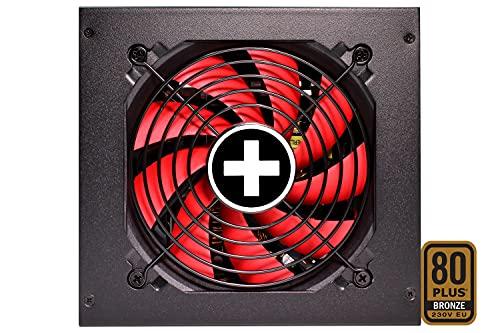 Xilence Performance A+lll Serie   PC Netzteil   XP550MR11   550 Watt   80+ Bronze   semi modular   Gaming   rot/schwarz