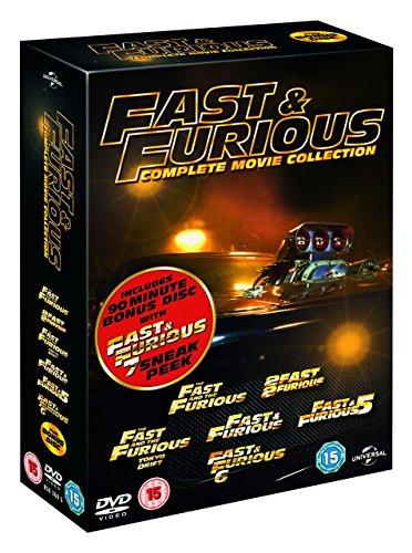 Fast & Furious 1-6 [DVD-AUDIO]