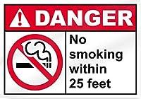 セキュリティサインアルミ屋外&屋内サイン、足元の禁煙サイン、装飾注意バスルーム警告リビング警告飲酒ガレージポスター