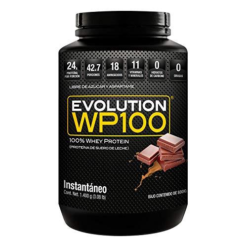 EVOLUTION WP100 CHOCOLATE 1400 GR PROTEÍNA