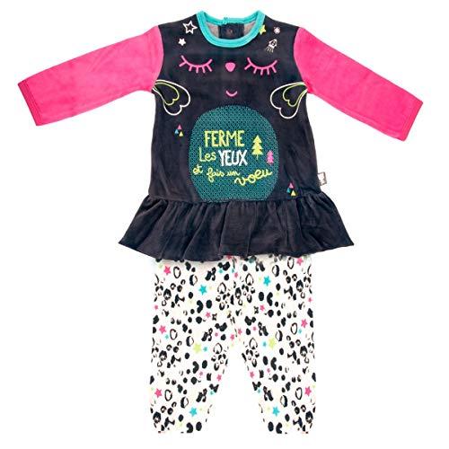 Petit Béguin - Pyjama bébé fille Wish - Taille - 18 mois (86 cm)