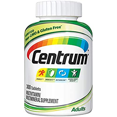 Centrum Adult Multivitamin/Multimineral Supplement with Antioxidants, Zinc and B Vitamins - 300 Count