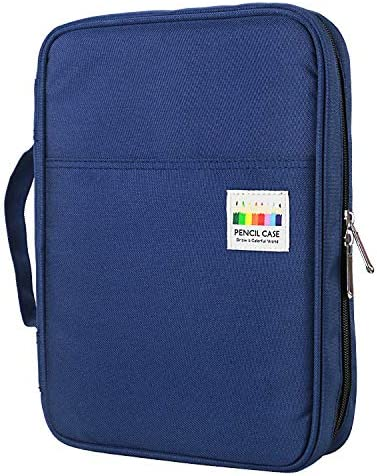 YOUSHARES 166 Slots Colored Pencil Case 110 Slots Gel Pens fo Coloring Case Organizer Handy product image