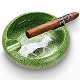 Home Ashtrays Cenicero de cigarros de cerámica Creativa Personalidad de Gran diámetro extintor de Humo de Canal Adornos de decoración del hogar