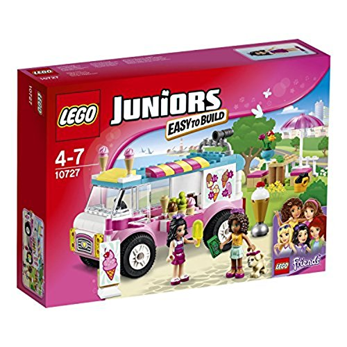 LEGO Juniors 10727 - Emmas Eiswagen, Spielzeug für vier Jährige