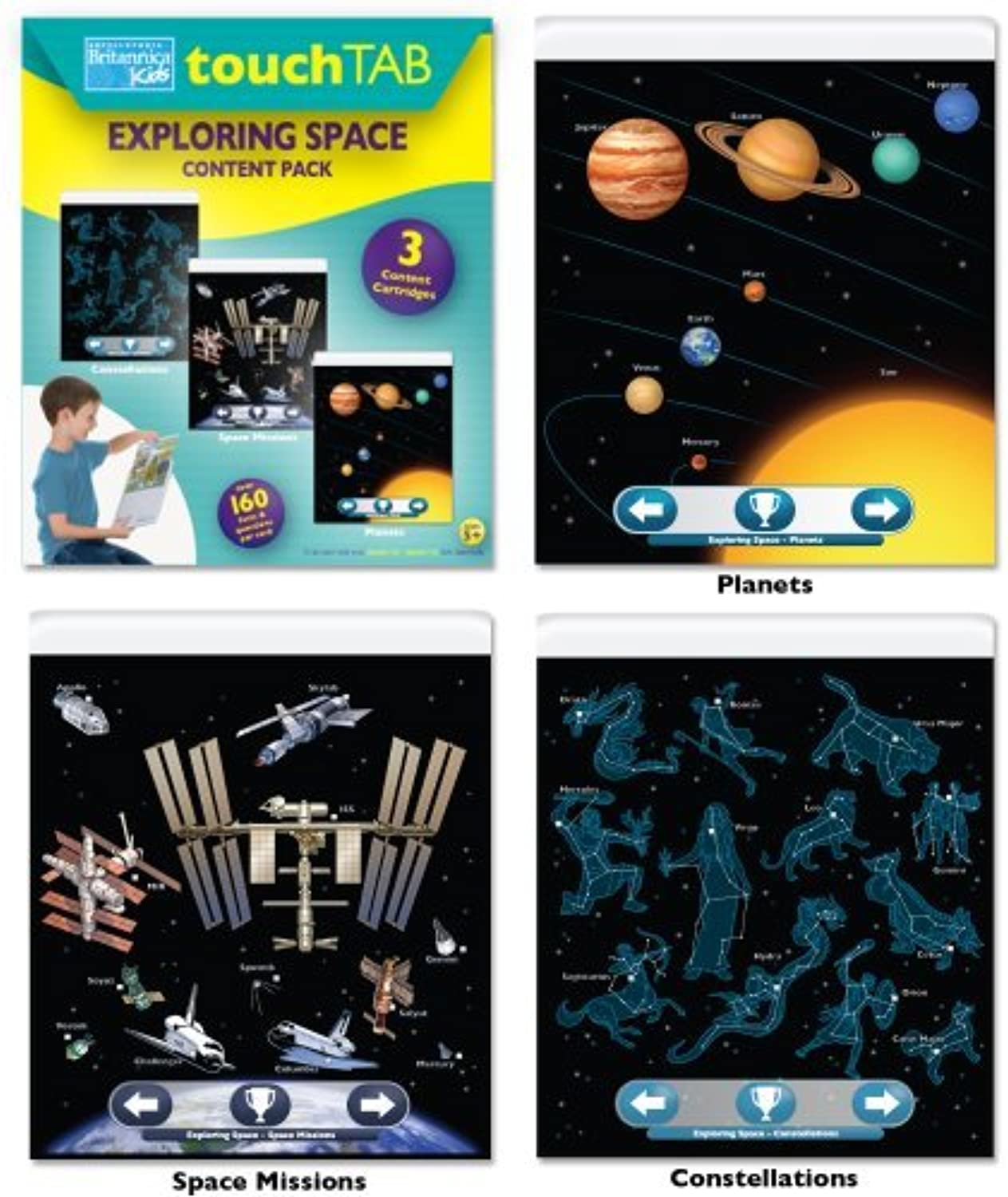 Encyclopedia Britannica Touch Tab Space Content Pack by Encyclopedia Britannica