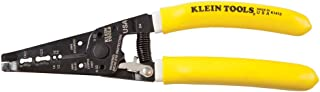 Klein Tools K1412 Wire Cutter / Wire Stripper, Dual NM Cable Stripper / Cutter Cuts Solid Copper Wire, Strips 12 and 14 AW...