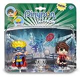 Pinypon Action - Pack de 2 Figuritas Superhéroe y Futbolista...