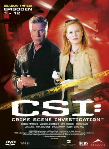 CSI: Crime Scene Investigation - Season 3.1 (3 DVD Digipack)