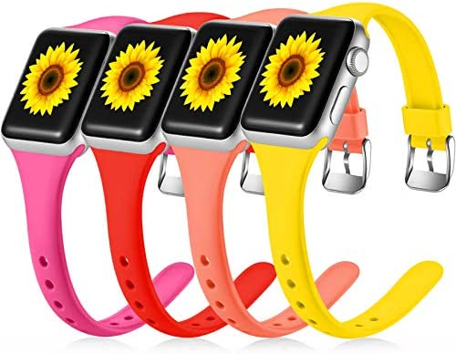Laffav Band Compatible with Apple Watch 44mm 42mm iWatch SE Series 6 Series 5 4 3 2 1 for Women product image