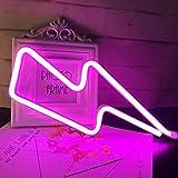 QiaoFei Neon-Schilder mit LED-Beleuchtung, dekoratives Festzeltschild,...