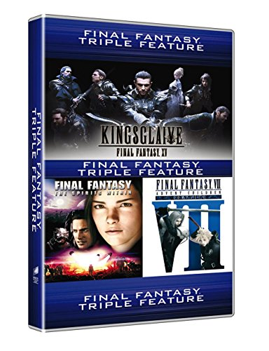 Final Fantasy - 3 Movie Collection (3 Dvd) [Italia]