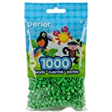 Bright Green Perler Beads for Kids Crafts, 1000 pcs