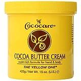 Cococare Cocoa Butter Cream, 15 oz (Pack of 3)