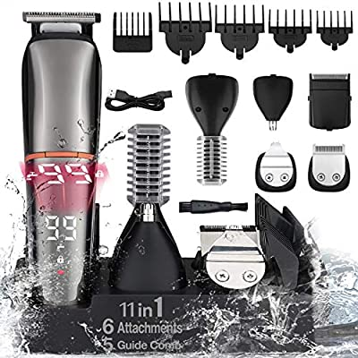 Hair Clipper For Men Professional Beard Trimmer...