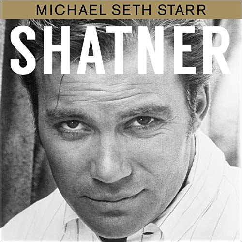 Shatner audiobook cover art
