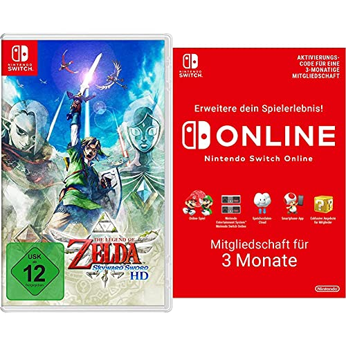The Legend of Zelda: Skyward Sword HD [Nintendo Switch] & Switch Online Mitgliedschaft - 3 Monate | Switch Download Code