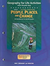 Holt People, Places, and Change Eastern Hemisphere Geography for Life Activities with Answer Key: An Introduction to World Studies